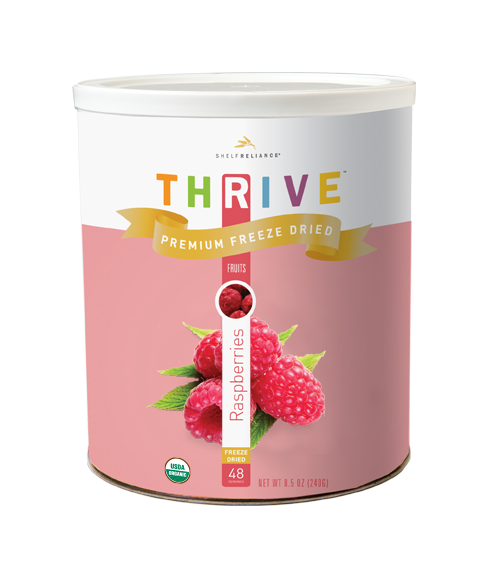 Organic Raspberries- Freeze Dried