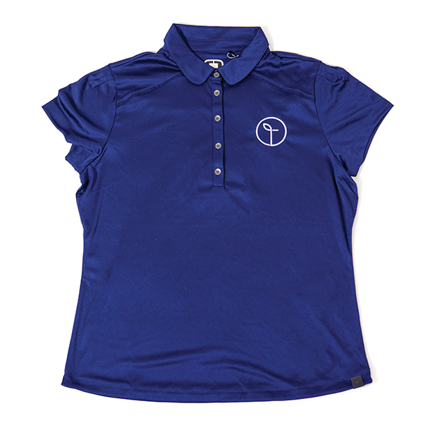 Women's Thrive Life Blue Polo