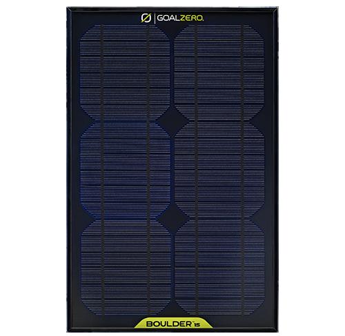 Goal Zero Boulder 15M Solar Panel