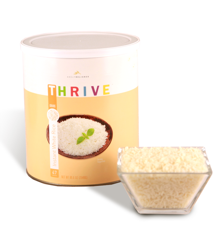 Instant White Rice (Discontinued)