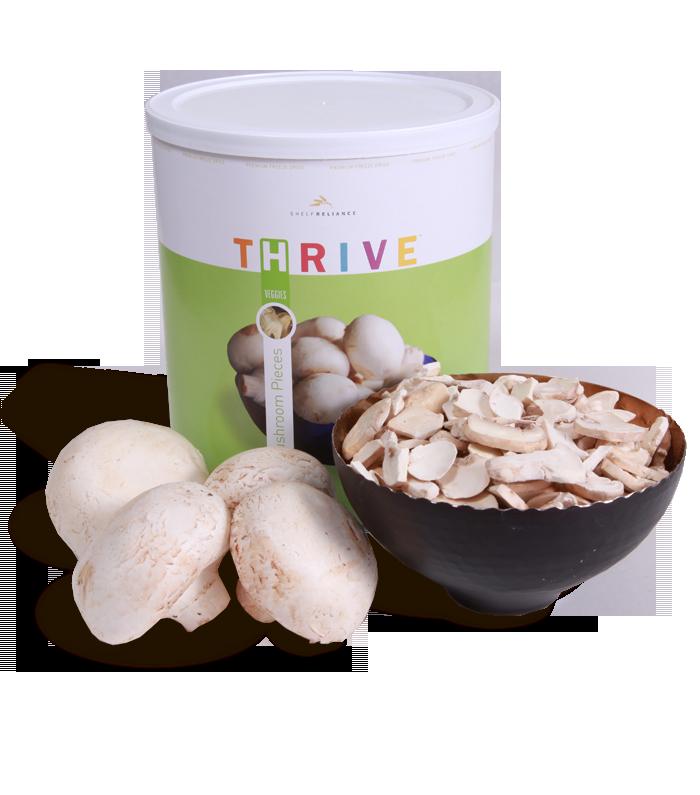 Mushroom Pieces - Freeze Dried