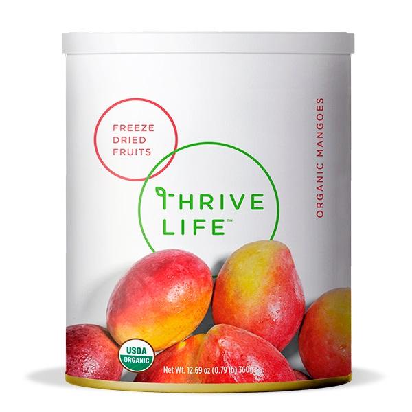 Organic Mangoes - Freeze Dried