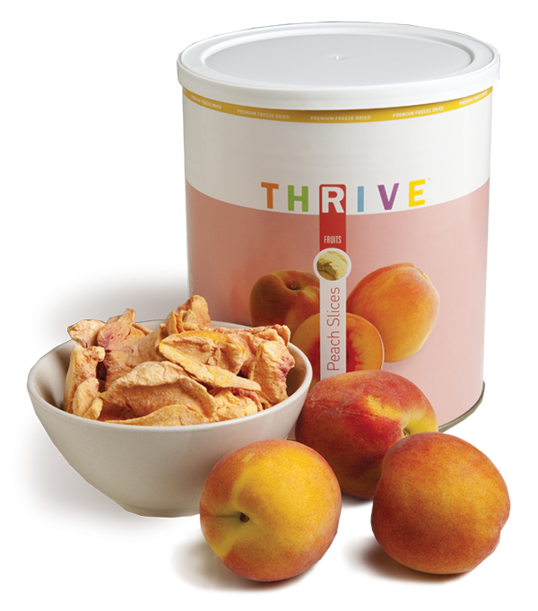Peach Slices - Freeze Dried