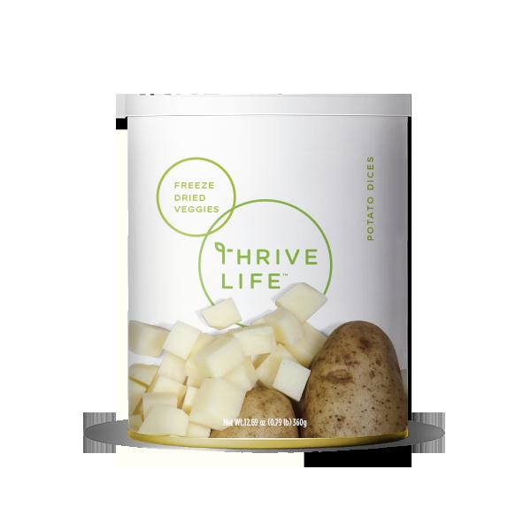 Potato Dices - Freeze Dried