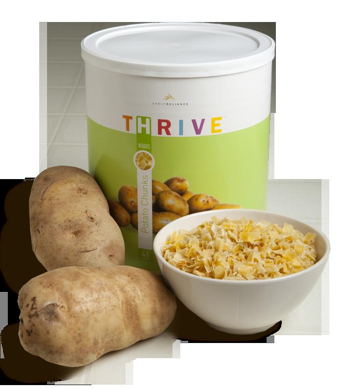 Potato Chunks