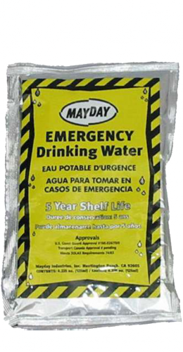 Emergency Water Pouch (4oz.)