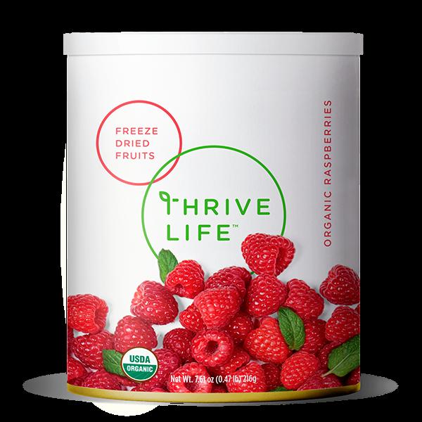 Organic Raspberries- Freeze Dried