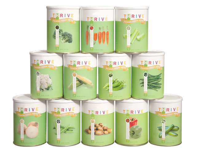 Vegetable Variety Pack - Pantry Cans