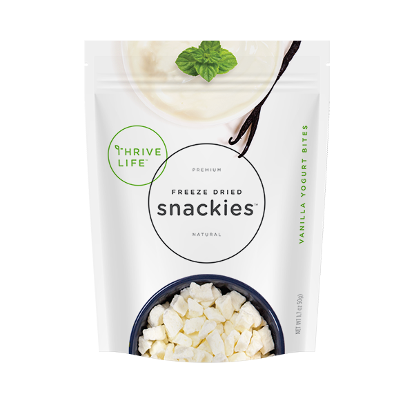 Vanilla Yogurt Bites - Snackies Pouch