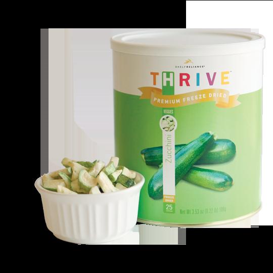 Zucchini - Freeze Dried